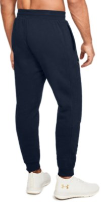 Under Armour Men/'s Rival Fleece Pants NEW AUTHENTIC Navy 1320739-408
