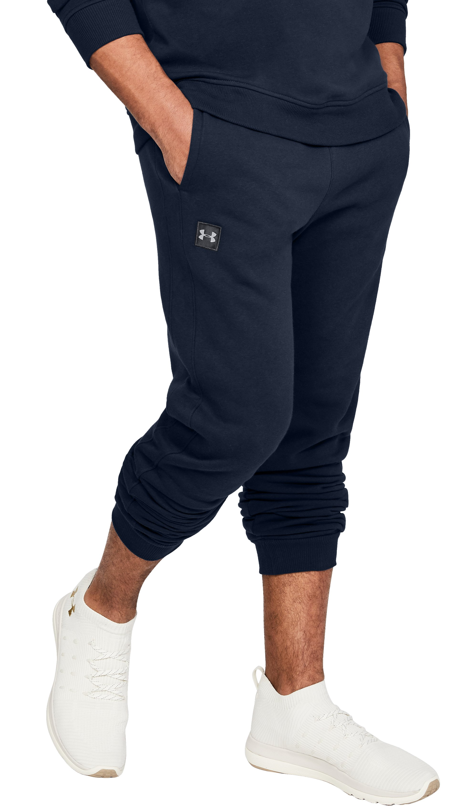 Men's UA Rival Fleece Joggers, Academy