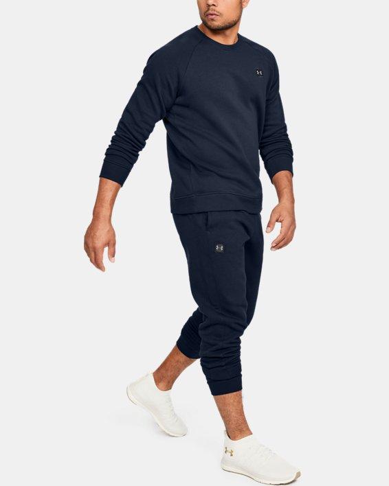 Pantalon de jogging UA Rival Fleece pour homme, Navy, pdpMainDesktop image number 1