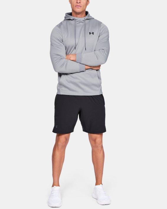 Men's Armour Fleece® Hoodie, Gray, pdpMainDesktop image number 1