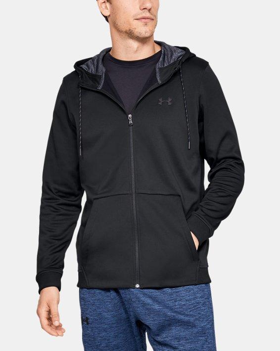 Armour Fleece® Full Zip pour homme, Black, pdpMainDesktop image number 0
