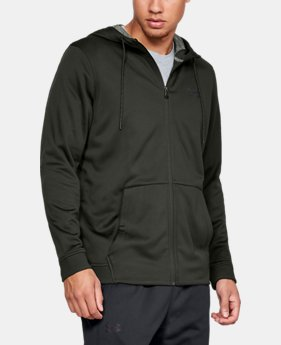 Men's Armour Fleece® Full-Zip LIMITED TIME ONLY 1  Color Available $45