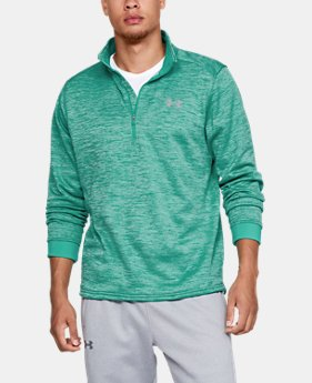Men's Armour Fleece® ½ Zip  2  Colors Available $65