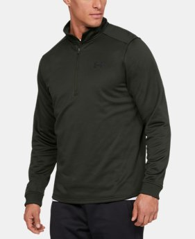 New Arrival  Men's Armour Fleece® ½ Zip  2  Colors Available $65