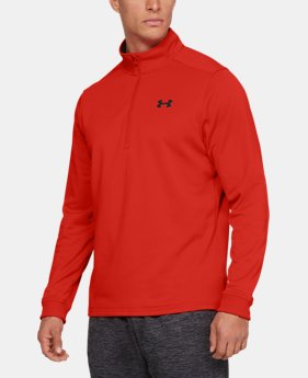 New Arrival  Men's Armour Fleece® ½ Zip  9  Colors Available $65