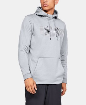 New Arrival Men's Armour Fleece® Spectrum Hoodie  1  Color Available $55