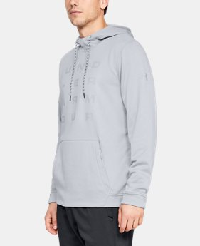 Best Seller Men's Armour Fleece® Tempo Hoodie  1  Color Available $55
