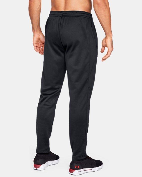 Men's Armour Fleece® Pants, Black, pdpMainDesktop image number 2