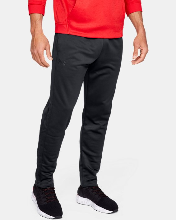 Pantalon Armour Fleece® pour homme, Black, pdpMainDesktop image number 0