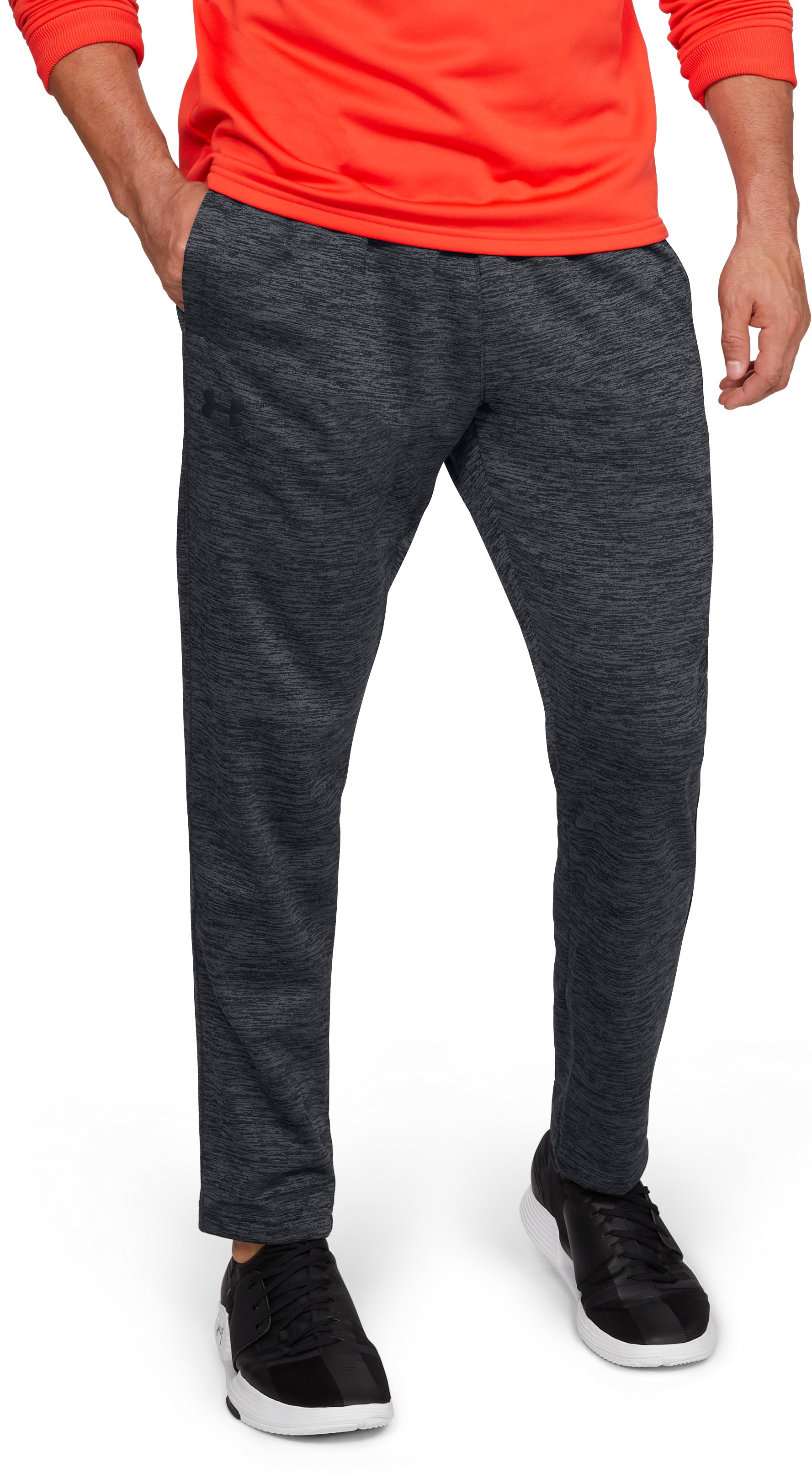 Men's Armour Fleece® Twist Pants, Black