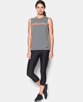 Women's UA Branded Stripe Tank  1 Color $17.99 to $22.99