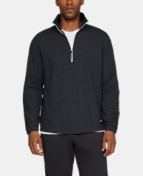 New Arrival Men's UA Sportstyle Microfleece ½ Zip  1  Color Available $70