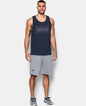 Men's UA Americana Tank  1 Color $14.24