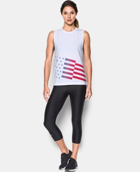 Women's UA Americana Tank  1 Color $17.24