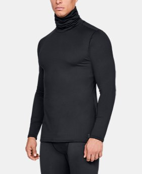 Men's ColdGear® Fitted Funnel Neck  4  Colors Available $55