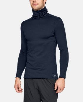 New Arrival Men's ColdGear® Fitted Funnel Neck  1  Color Available $55