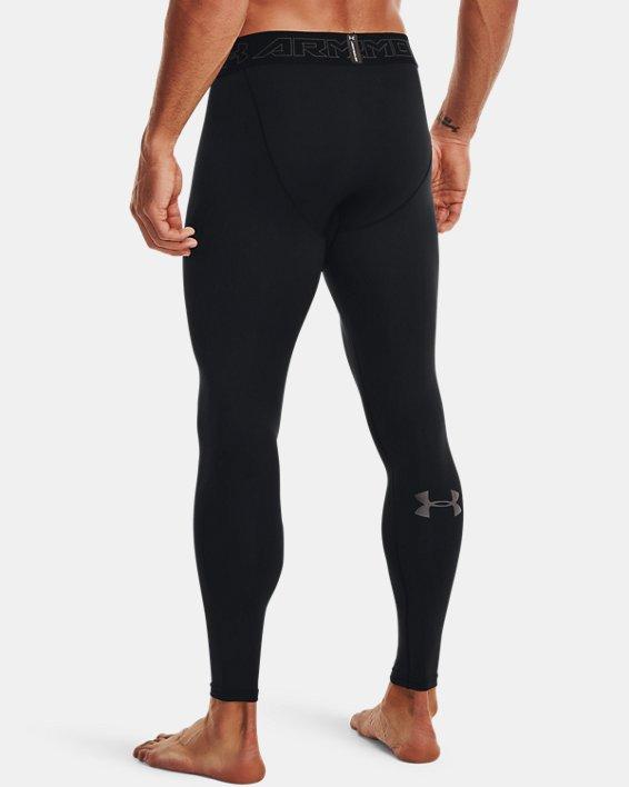 Men's ColdGear® Leggings, Black, pdpMainDesktop image number 3