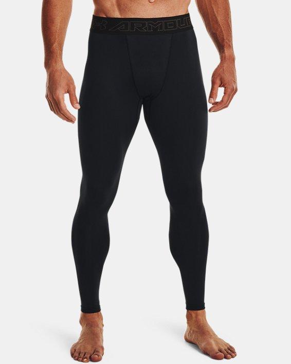 Men's ColdGear® Leggings, Black, pdpMainDesktop image number 2