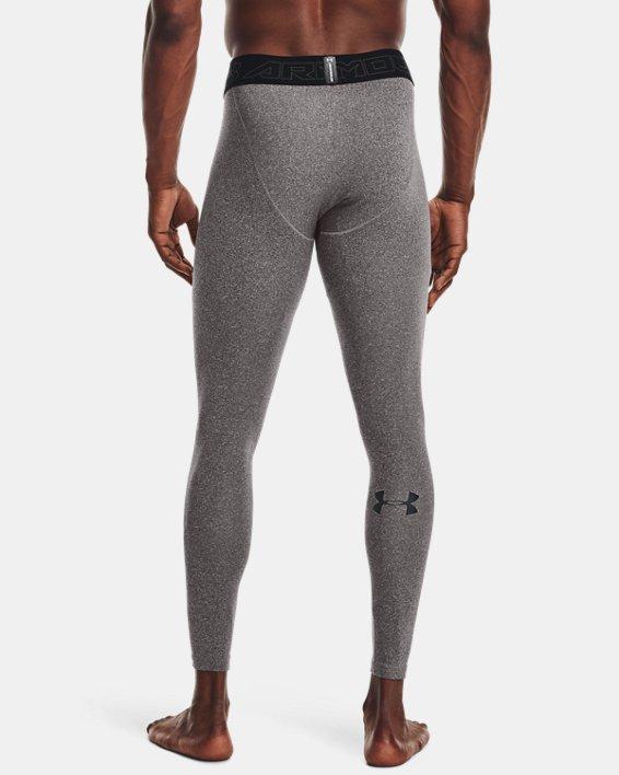 Men's ColdGear® Leggings, Gray, pdpMainDesktop image number 2