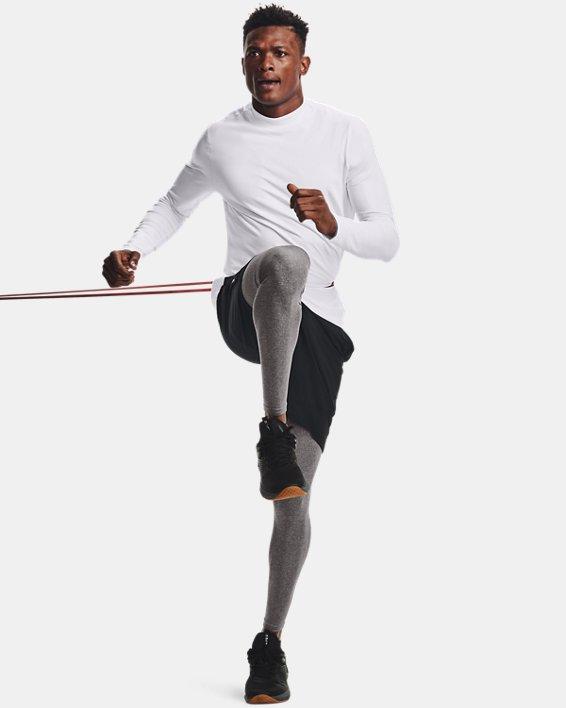 Men's ColdGear® Leggings, Gray, pdpMainDesktop image number 1