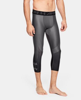 Men's HeatGear® Armour 2.0 ¾ Leggings  0  Colors Available $0