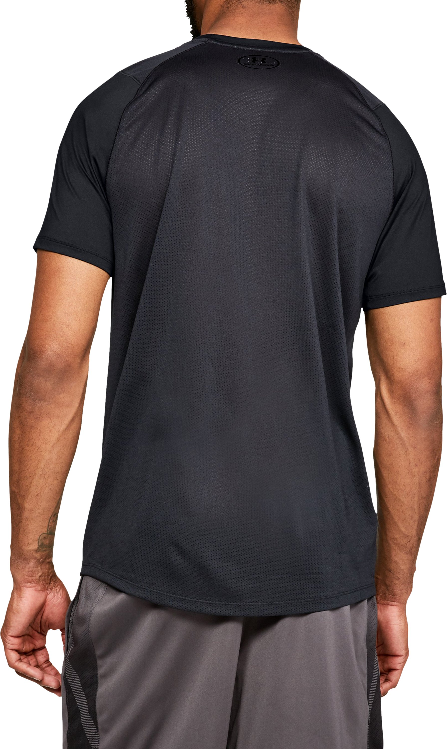 Men's UA MK-1 Logo Graphic Short Sleeve, Black ,