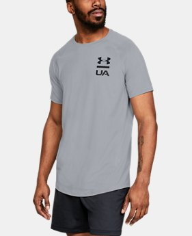 Men's UA MK-1 Logo Graphic Short Sleeve  1  Color Available $30