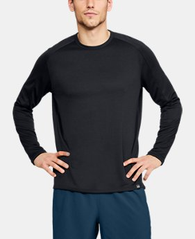 New Arrival  Men's UA Lighter Longer Crew  4  Colors Available $50
