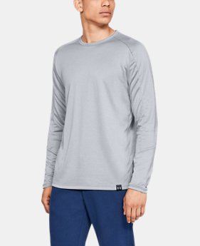 Men's UA Lighter Longer Crew  1  Color Available $40