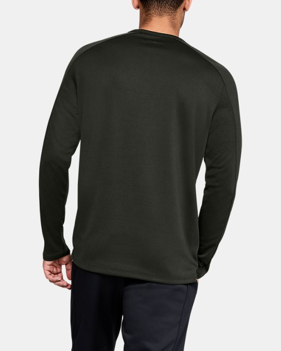 Men's UA Lighter Longer Crew, Green, pdpMainDesktop image number 2