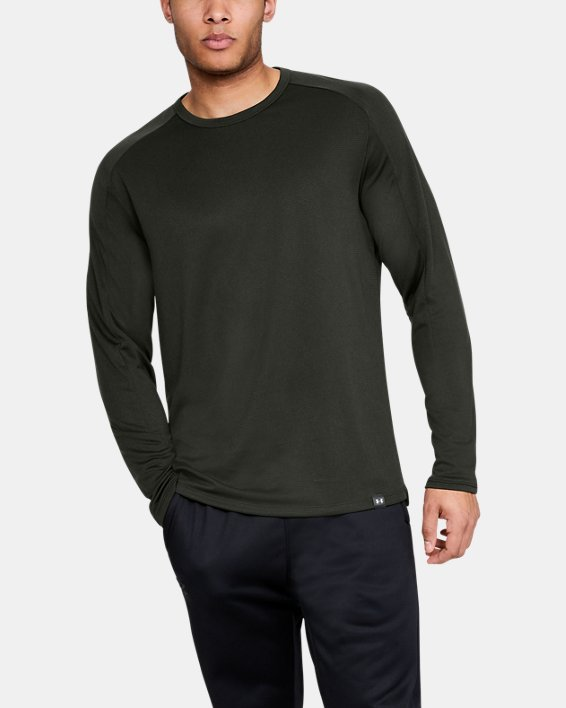 Men's UA Lighter Longer Crew, Green, pdpMainDesktop image number 0