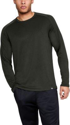 Green New Under Armour UA Men/'s Lighter Longer Funnel Neck Top