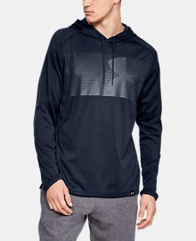 New Arrival  Men's UA Lighter Longer Hoodie  1  Color Available $55