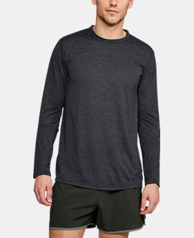 Best Seller Men's UA Microthread Long Sleeve  4  Colors Available $40