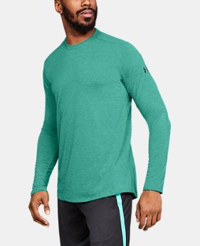 Best Seller  Men's UA Microthread Long Sleeve  1  Color Available $45