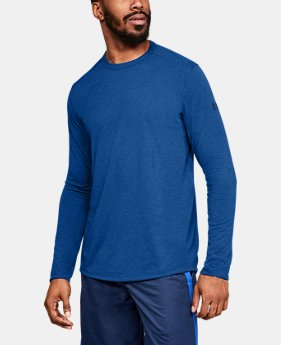 Best Seller  Men's UA Microthread Long Sleeve  4  Colors Available $45
