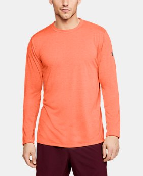 New Arrival  Men's UA Microthread Long Sleeve  1  Color Available $45