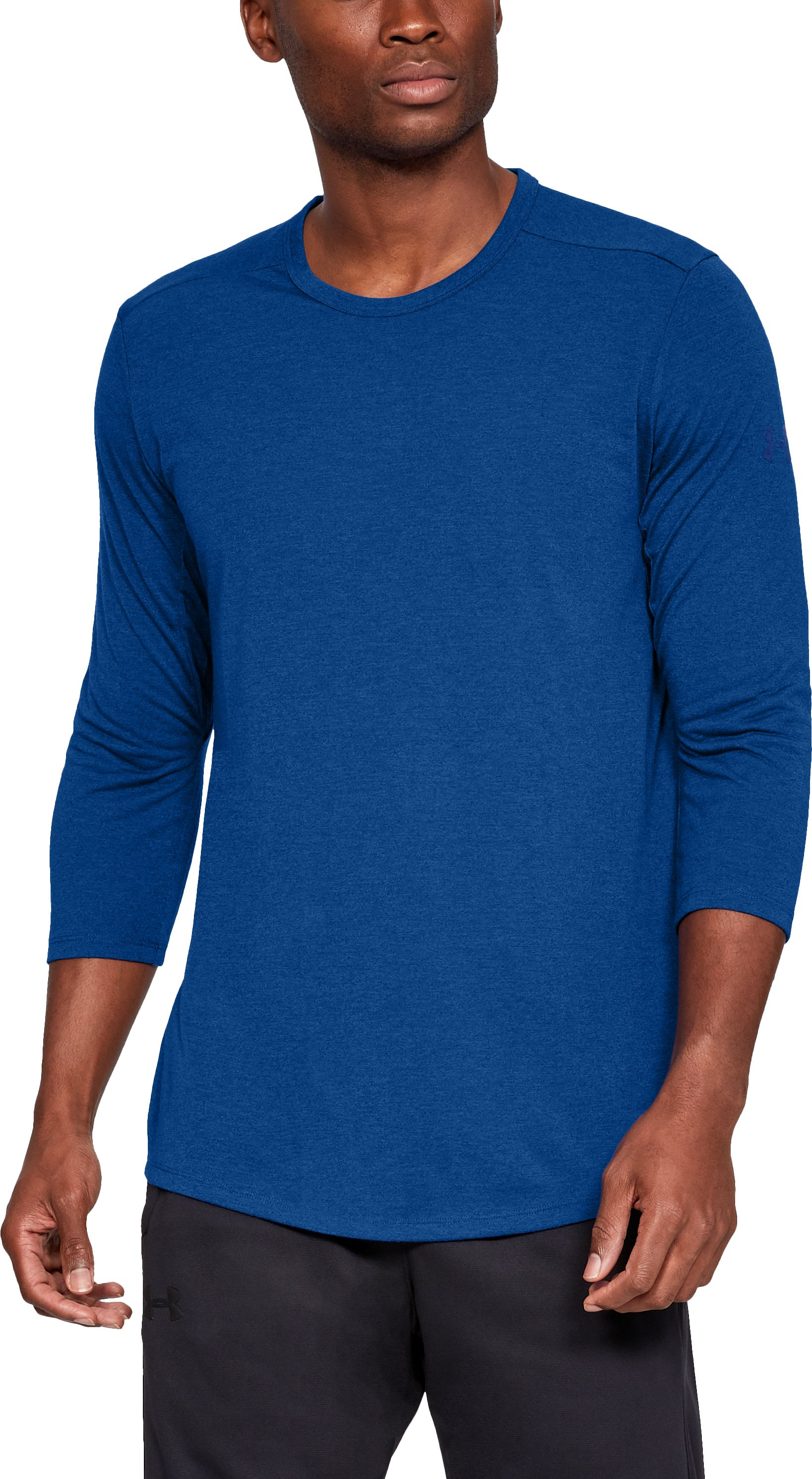 Men's UA Microthread Utility T-Shirt, Royal