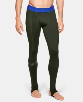 New Arrival Men's UA Storm Cyclone ColdGear® Legging  4  Colors Available $65