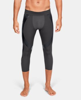 New Arrival  Men's UA Perpetual Powerprint ½ Leggings  1  Color Available $100