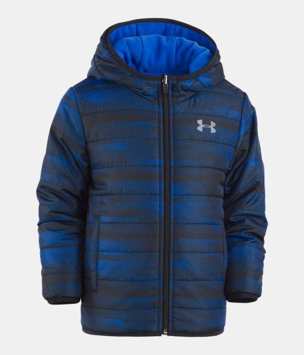 Boys  Toddler UA Speedlines Reversible Puffer Jacket  3b7107f351f41