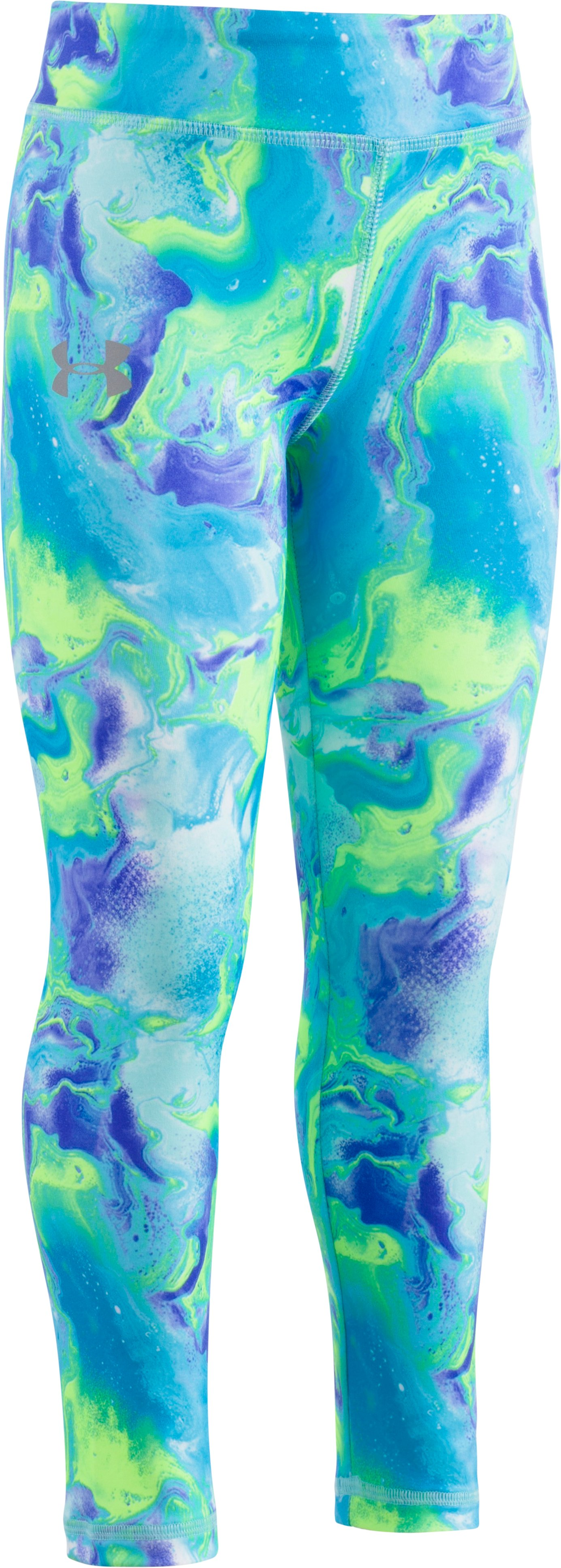Girls' Pre-School UA Dream Wave Leggings, BLUE INFINITY, zoomed