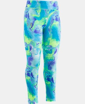 New Arrival Girls' Pre-School UA Dream Wave Leggings  1 Color $29.99