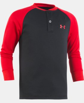 New Arrival Boys' Toddler UA Raglan Henley  2 Colors $28.99