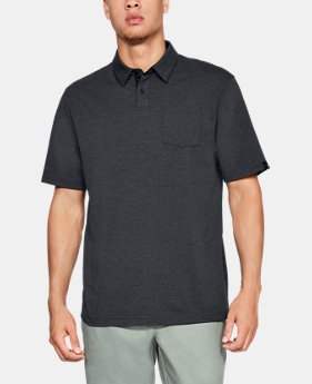 New Arrival  Men's Charged Cotton® Scramble Polo  6  Colors Available $55