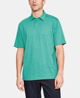 Best Seller Men's Charged Cotton® Scramble Polo  1  Color Available $45