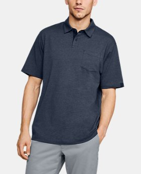 New Arrival Men's Charged Cotton® Scramble Polo  1  Color Available $45