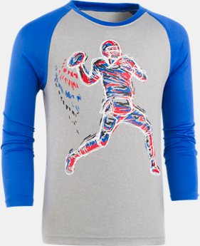 New Arrival Boys' Pre-School UA Illuminated QB Raglan  1 Color $22.99
