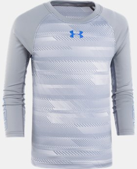 New Arrival Boys' Pre-School UA Speed Lines Long Sleeve Shirt  1 Color $29.99