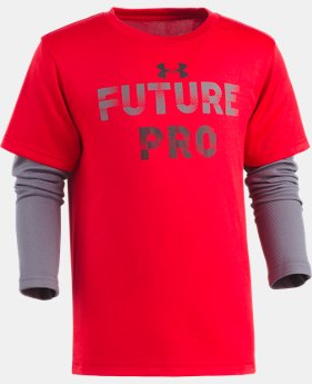 Boys' Pre-School UA Future Pro Slider  1 Color $29.99